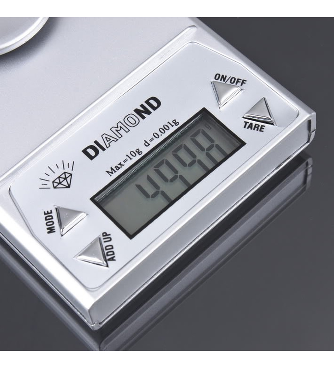 20g x 0.001g + Calibration weight Digital scale, fine balance, jeweler balance, precision balance