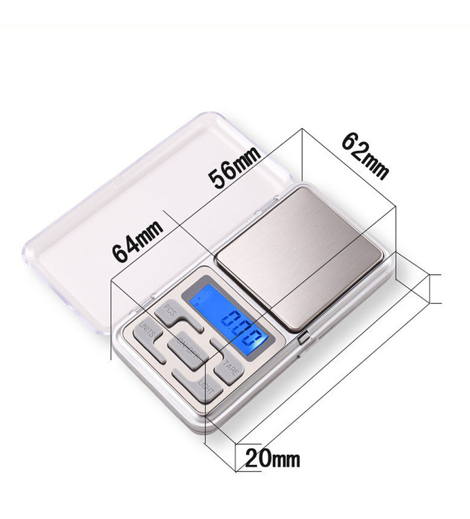 200g × 0.01g, digital scale, very accurate, by wake-up-easy, pocket scale, fine scale